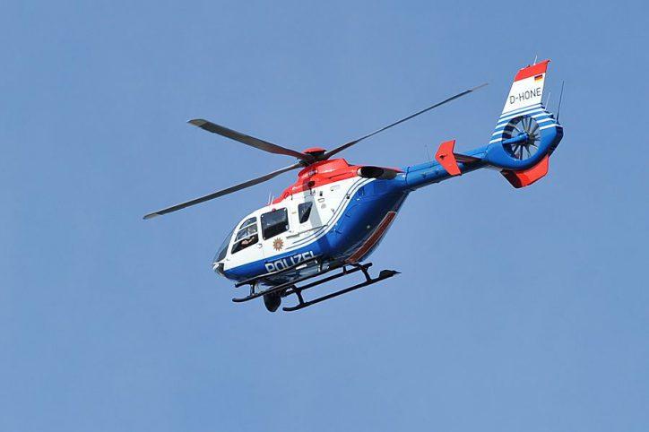 Polizei-Hubschrauber hilft bei Dealer-Suche