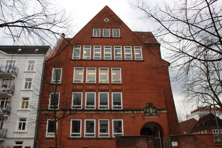 Die Schule in der Telemannstraße wurde 1911 eröffnet. Foto: Robin Eberhardt