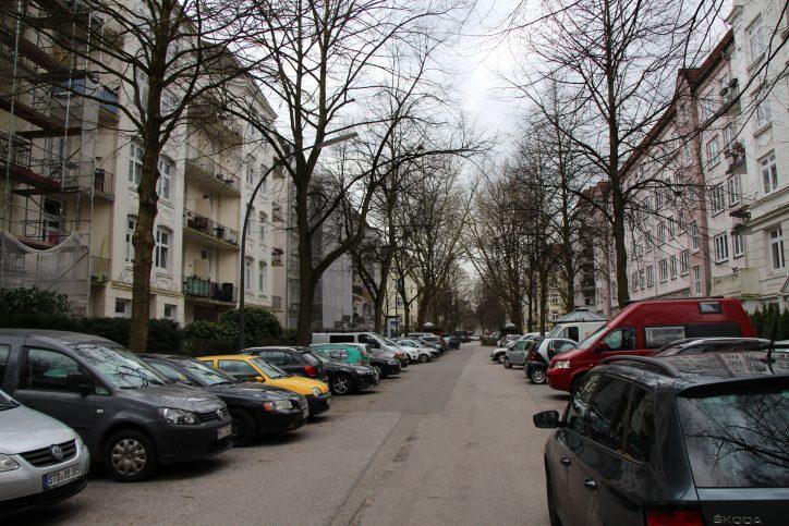 Die Telemannstraße ist eine ruhige Wohnstraße. Foto: Robin Eberhardt