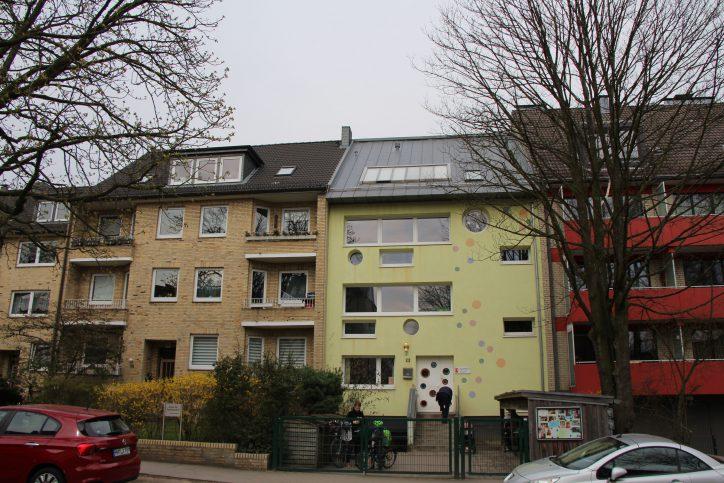 Die Kindertagesstätte Sternipark in der Tornquiststraße. Foto: Robin Eberhardt
