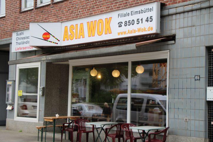 Im Asia Wok gibt es neben den Klassikern auch Sushi zum Mittagstisch. Foto: Robin Eberhardt