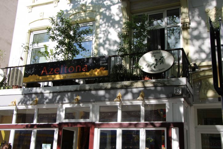 Vegetarischen Mittagstisch gibt es im Azeitona in der Osterstraße 172. Foto: Robin Eberhardt
