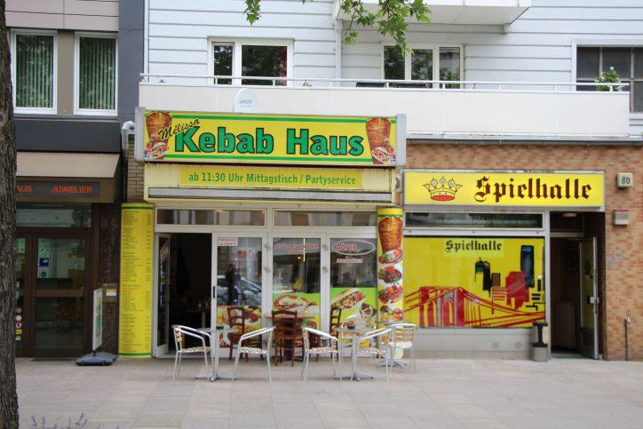 Orientalische Spezialitäten zum Mittagstisch gibt es im Kebab Haus. Foto: Robin Eberhardt