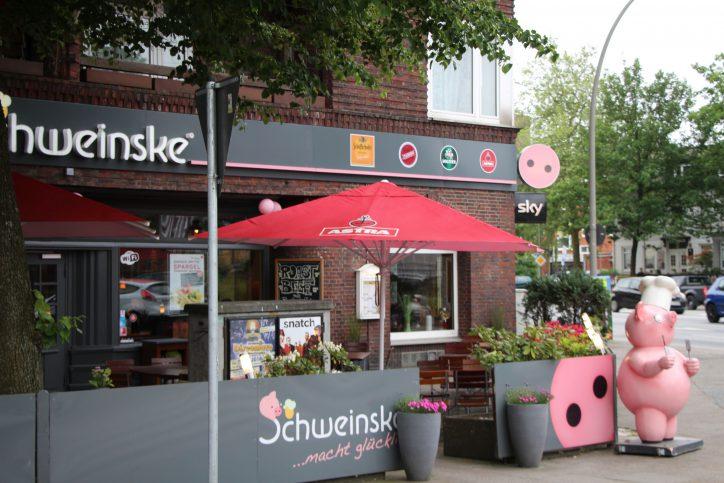 Deutsche Küche gibt es beim Schweinske. Foto. Robin Eberhardt
