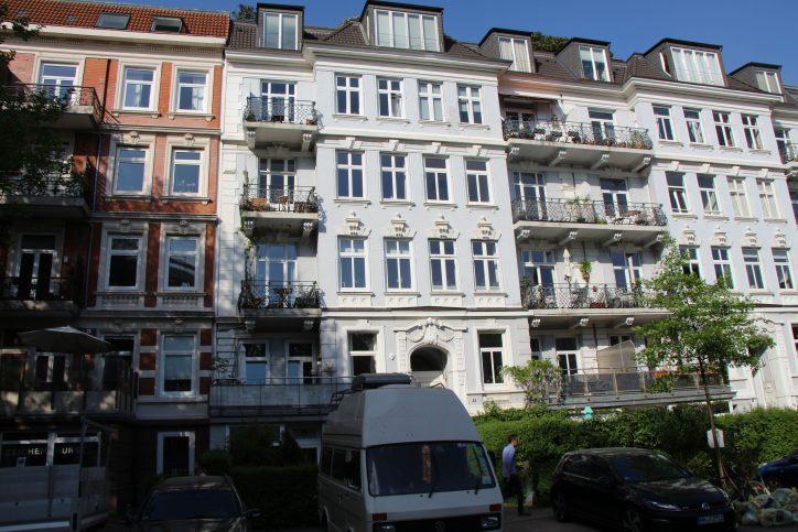 Jugendstilhäuser in der Unnastraße. Foto: Robin Eberhardt