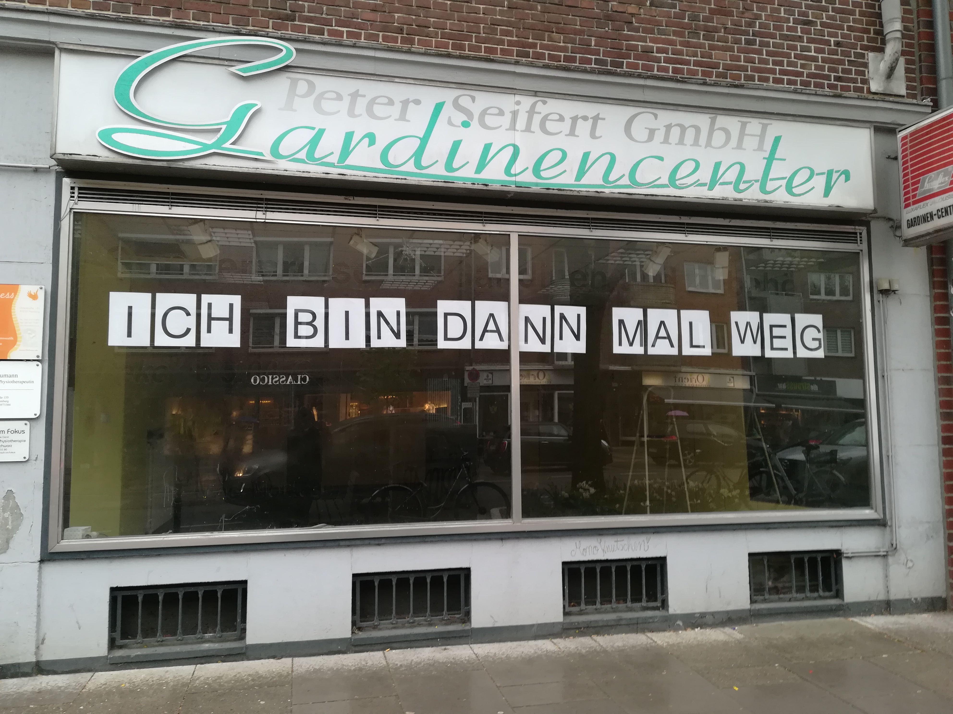 Gardinencenter Seifert schließt nach 35 Jahren