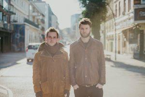 Die beiden Singer Songwriter Nature in the City treten im Birdland auf. Foto: Nicole Siemers