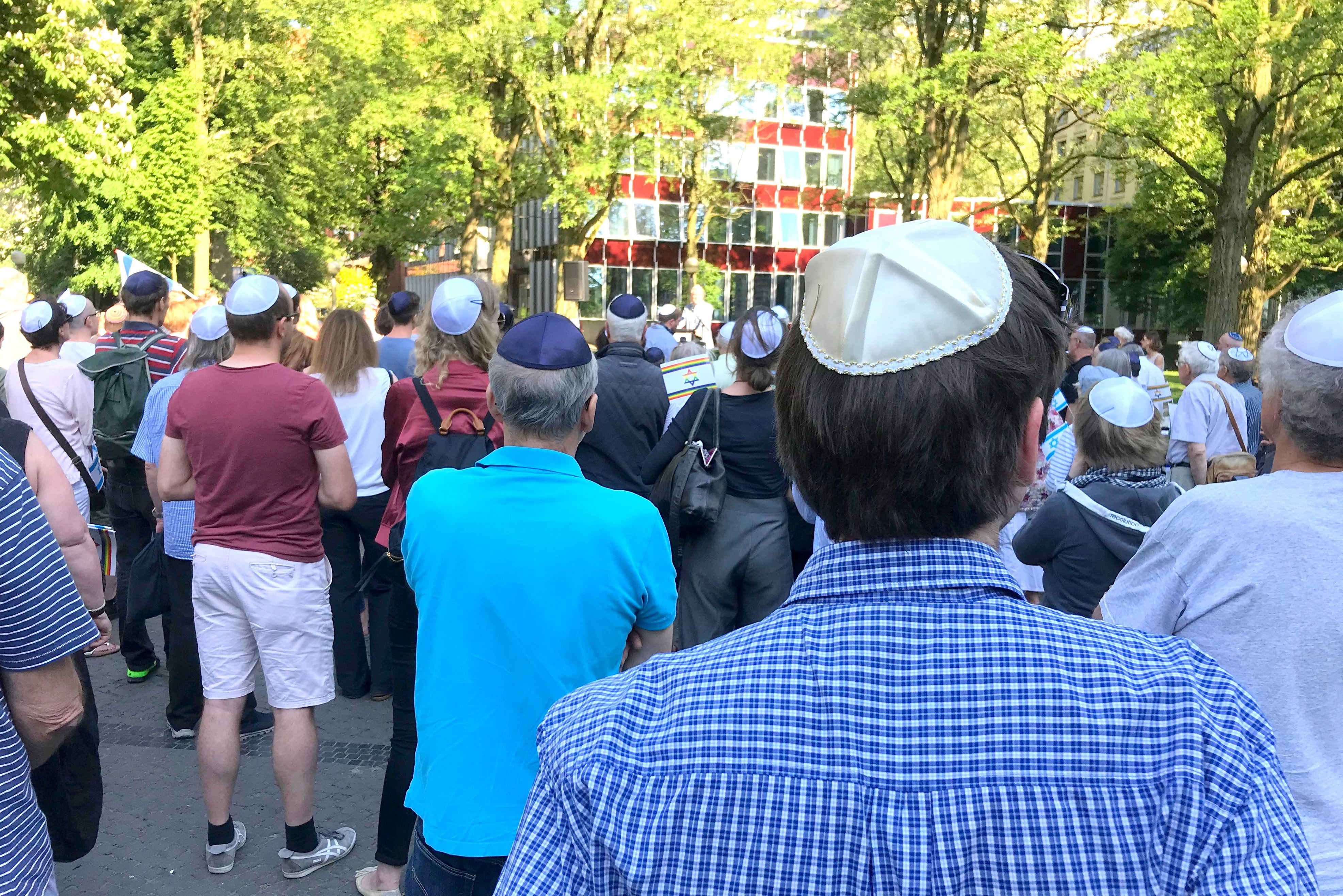 Kippa-Tag: Zeichen gesetzt gegen Antisemitismus