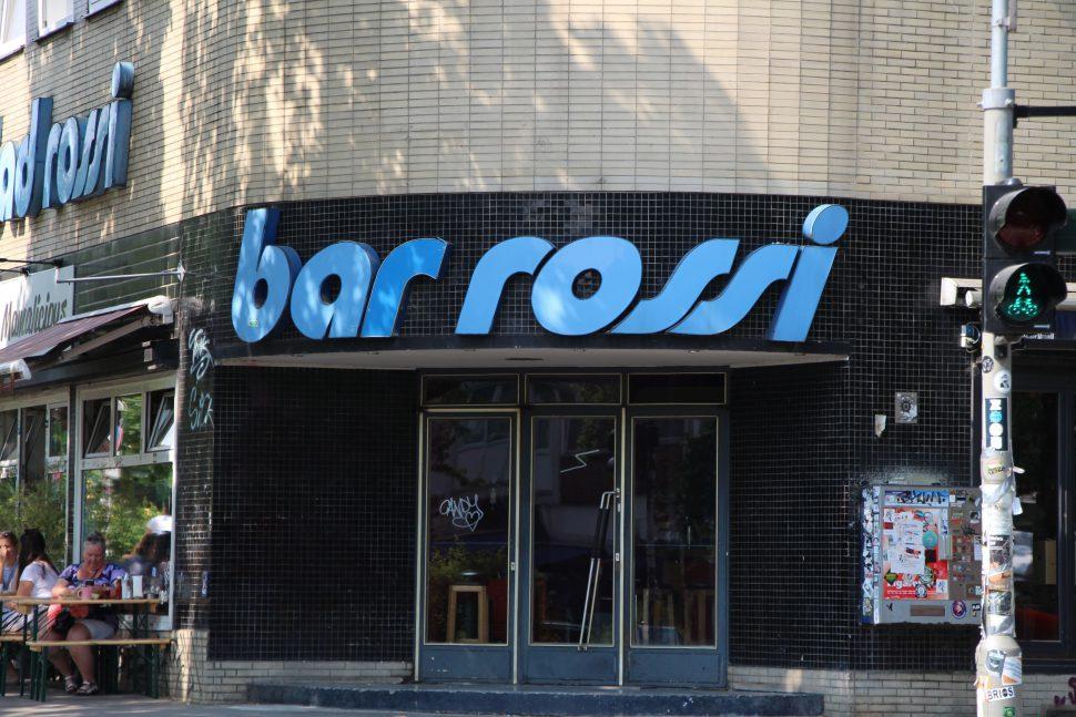 Bis Mai noch Bar Rossi, bald schon Kleiner Donner. Foto: Vanessa Leitschuh