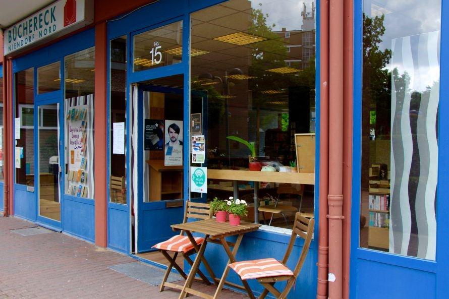 Büchereck Niendorf. Foto: Lea Freist