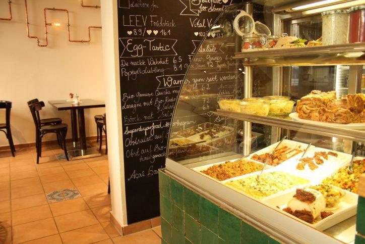 Hamburg Eimsbuettel Café Leev. Foto: Monika Dzialas