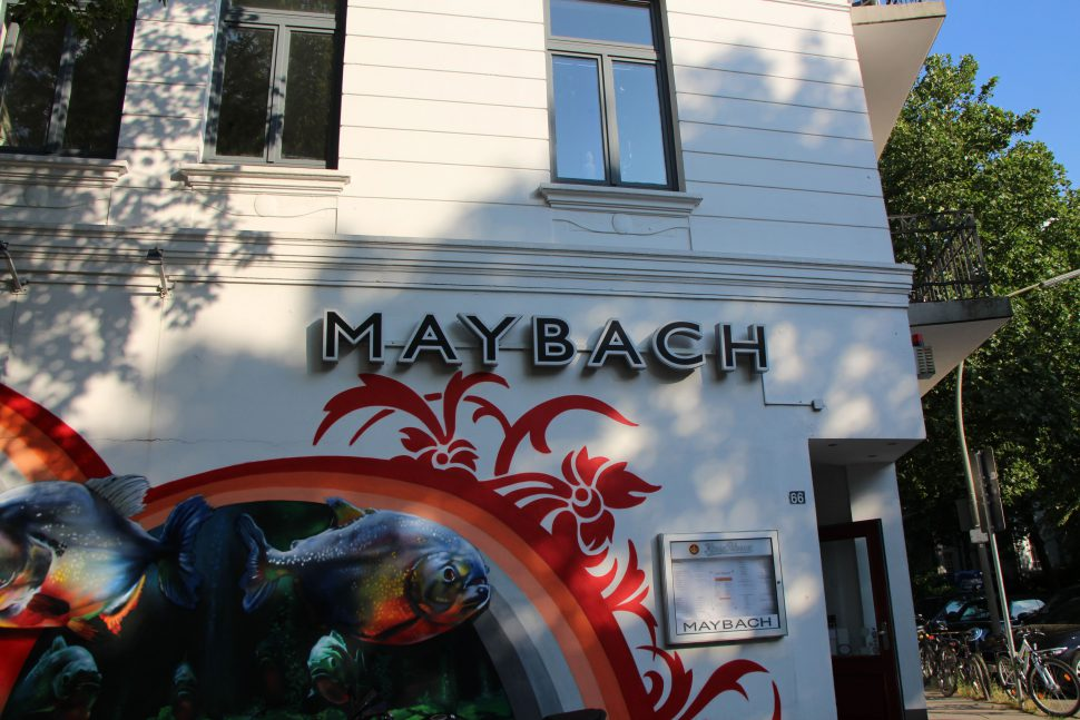 Café Maybach im Heußweg. Foto: Robin Eberhardt