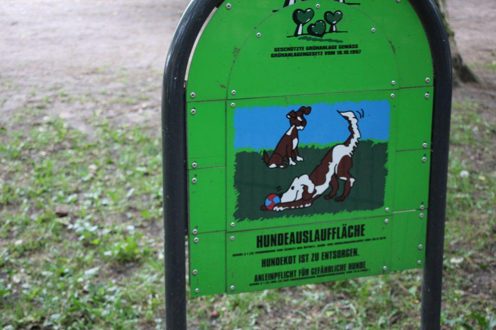 Es gibt Ärger um die Hundewiese in der Eduardstraße. Foto: Fabian Hennig