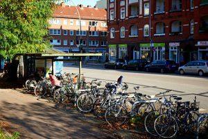 Fahrraddiebstahl nach Auftragsprinzip. Besonders Hollandräder aus Eimsbüttel waren gefragt. Foto: Christoph Höhmann
