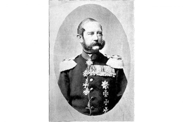 Hugo Freiherr von Kottwitz. Quelle: Wikipedia