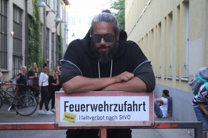 Samy Deluxe beim Jubiläum der Haspa Musik Stiftung Foto: Alicia Wischhusen