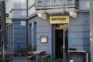 Das Hatari bietet neben süddeutschen Spezialitäten auch Burger und Flammkuche. Foto. Robin Eberhardt