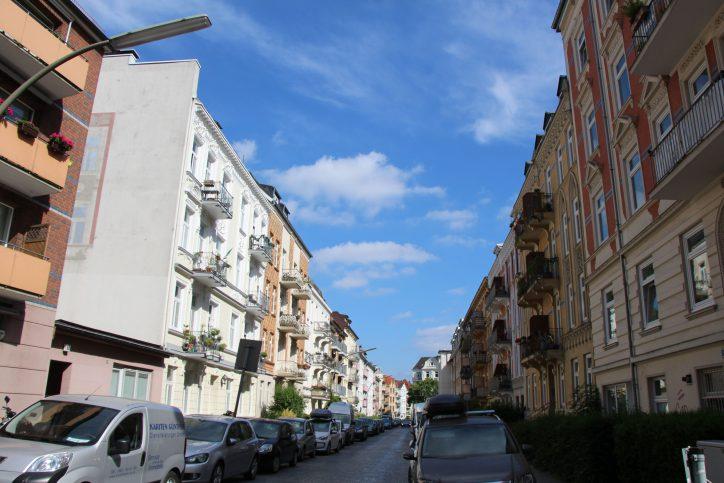 Ein Blick in die Kottwitzstraße. Foto: Robin Eberhardt