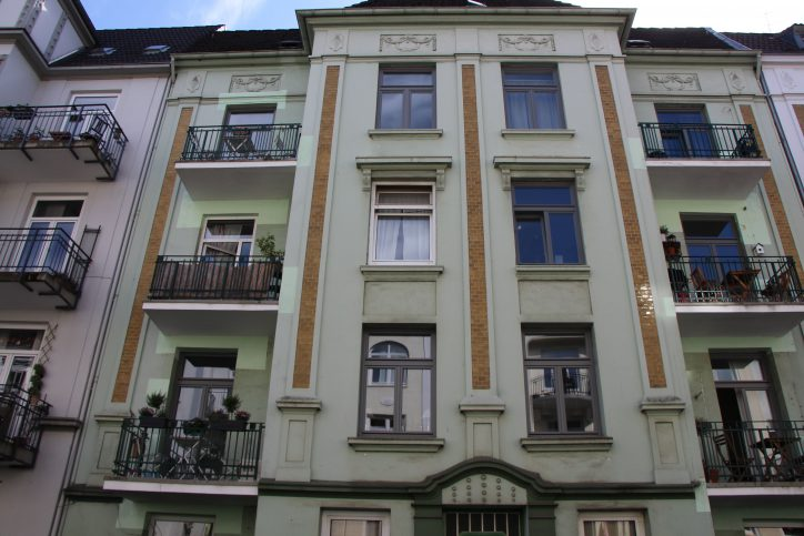 Ein klassisches Jugendstilhaus in der Kottwitzstraße. Foto: Robin Eberhardt