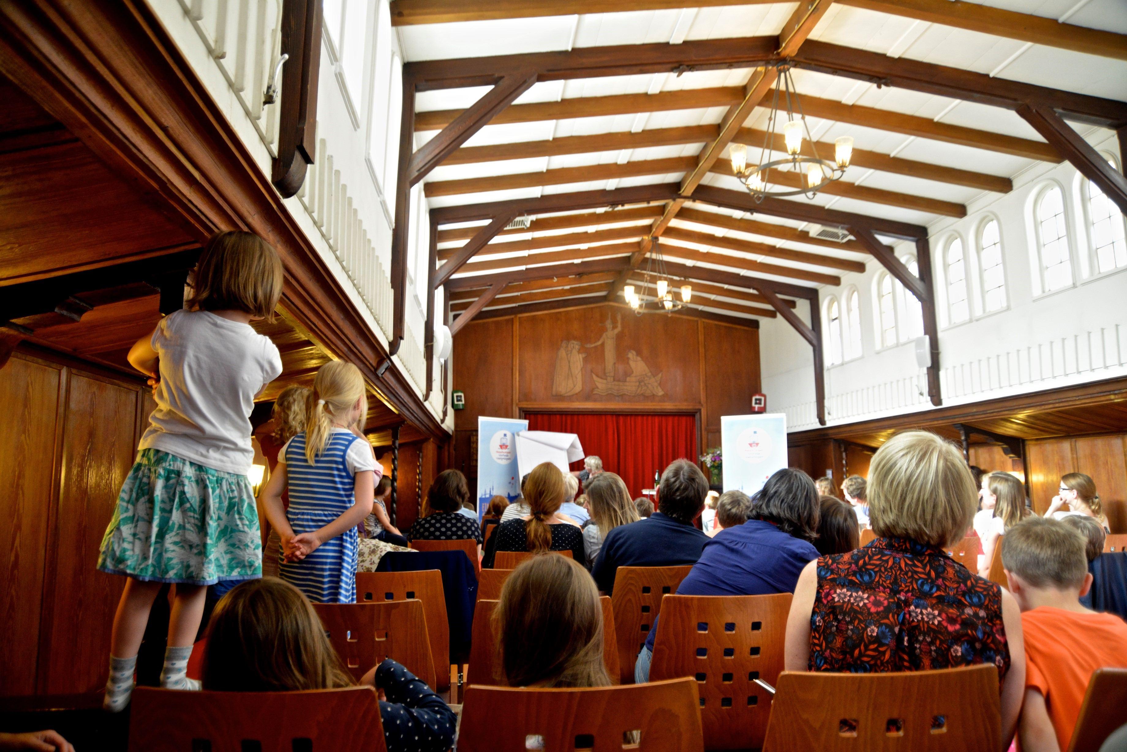 VorleseVergnügen: Eimsbüttel spitzt die Ohren