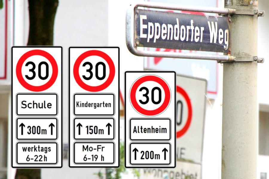 Behörde prüft Tempo 30 im Eppendorfer Weg