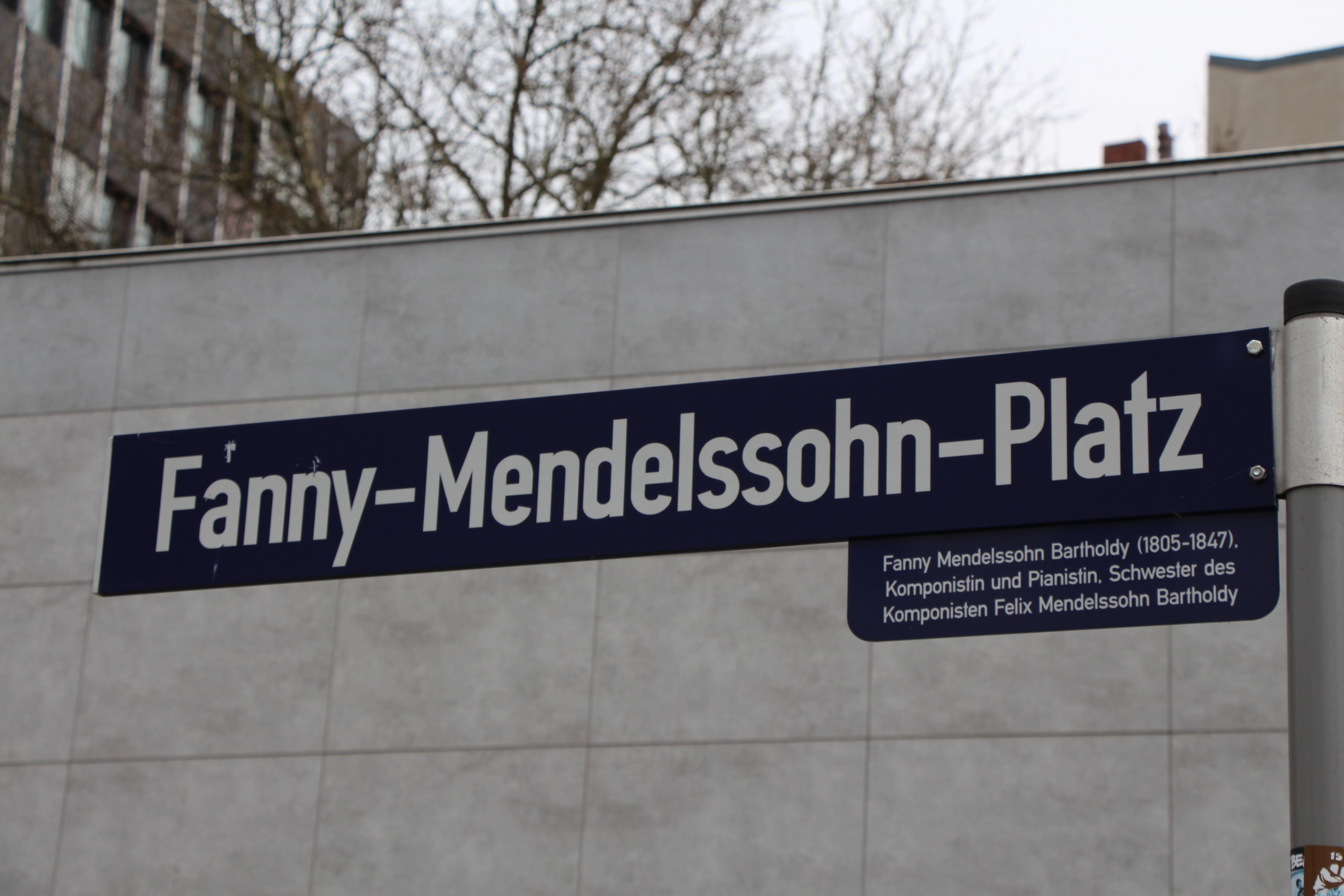 Straßennamen: Fanny-Mendelssohn-Platz