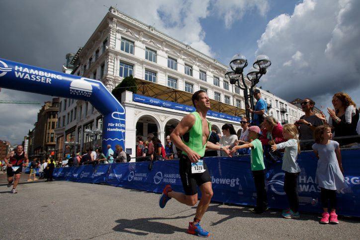 Straßensperrungen aufgrund des Triathlons. Foto: Getty Images for IRONMAN