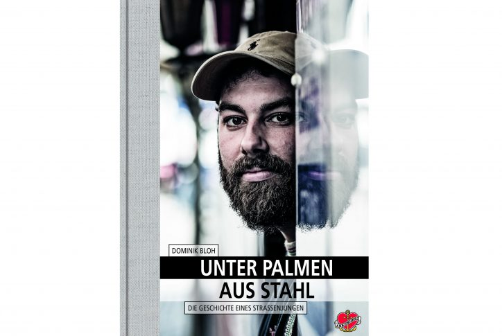 Dominik Bloh hat ein Buch über seine Zeit auf der Straße geschrieben. Foto: Ankerherz Verlag