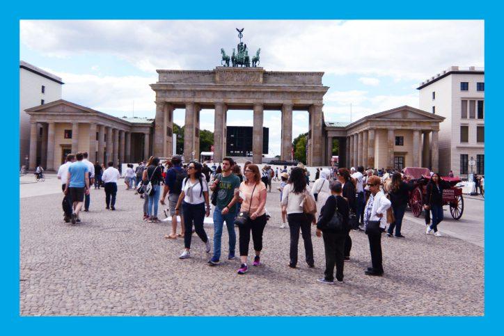 Das Foto entstand beim Berlin-Besuch der Eimsbütteler Abgeordneten. Foto: Fabian Hennig