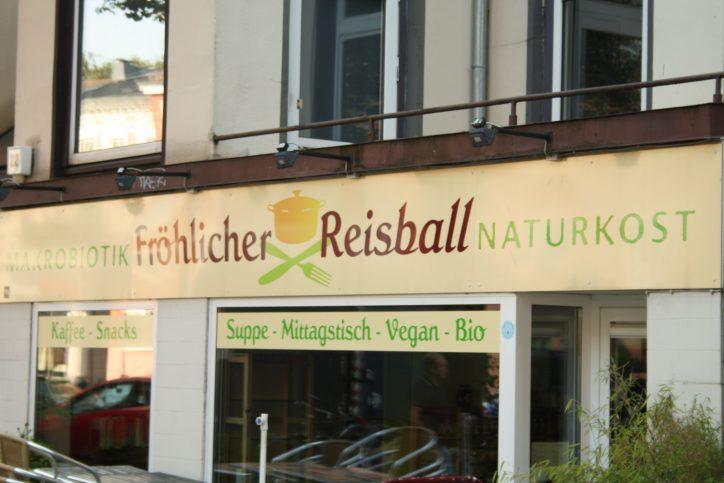 Hamburg Eimsbuettel Fröhlicher Reisball