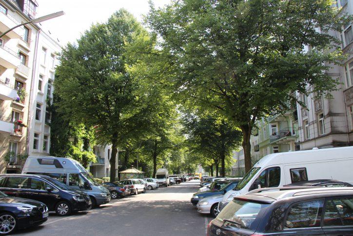 Ein Blick in die Sillemstraße. Foto: Robin Eberhardt