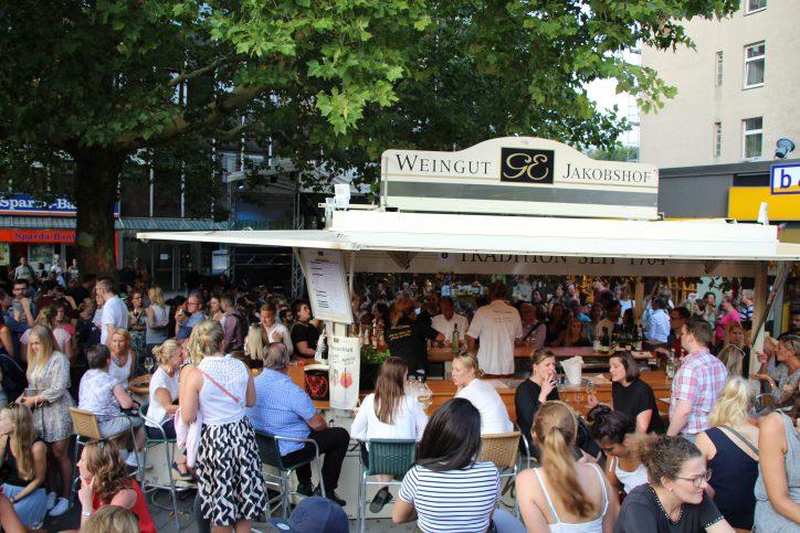 Auch dieses Jahr war das Weinfest wieder gut besucht. Foto: Robin Eberhardt