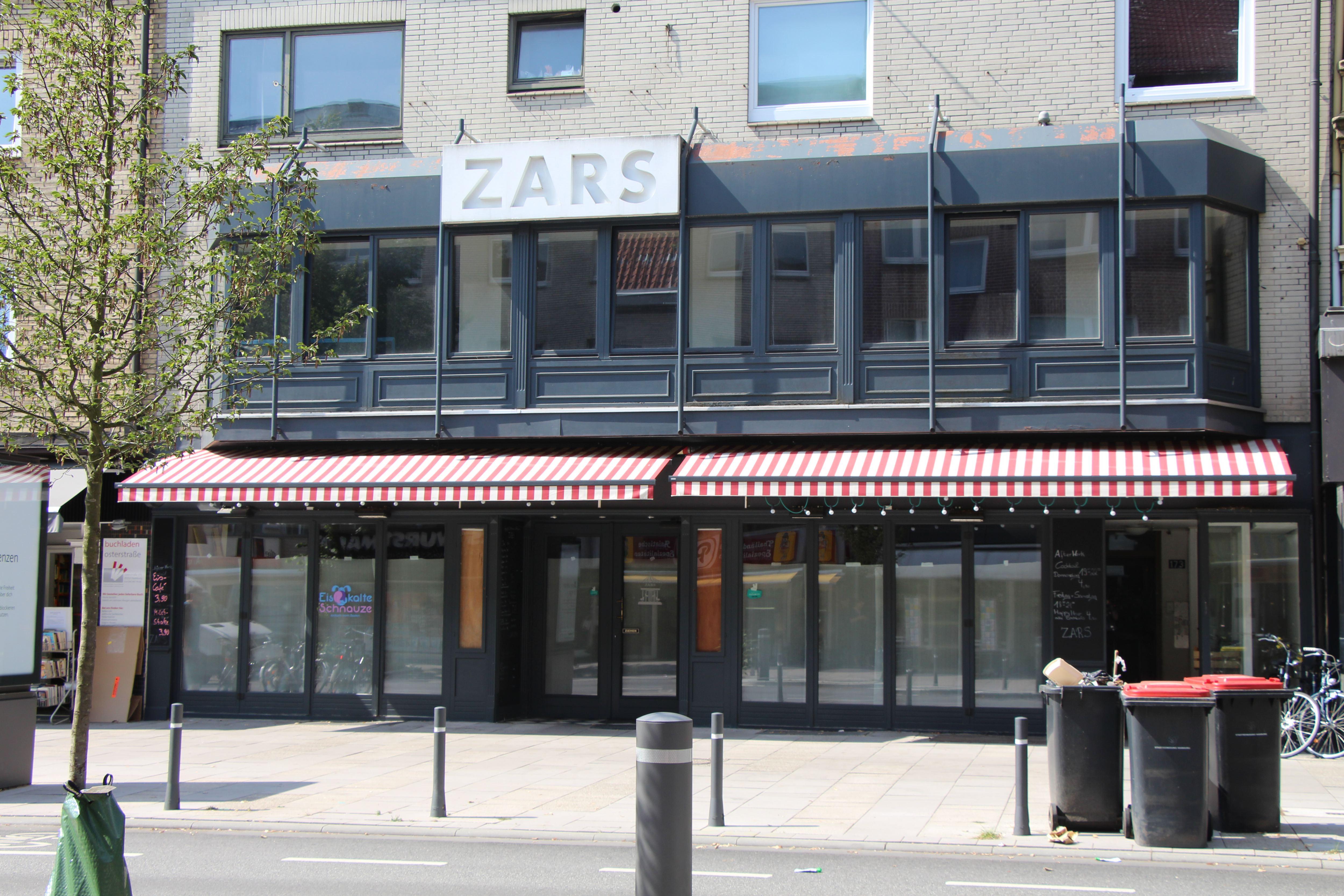 "Café ""Zars"" schließt überraschend"