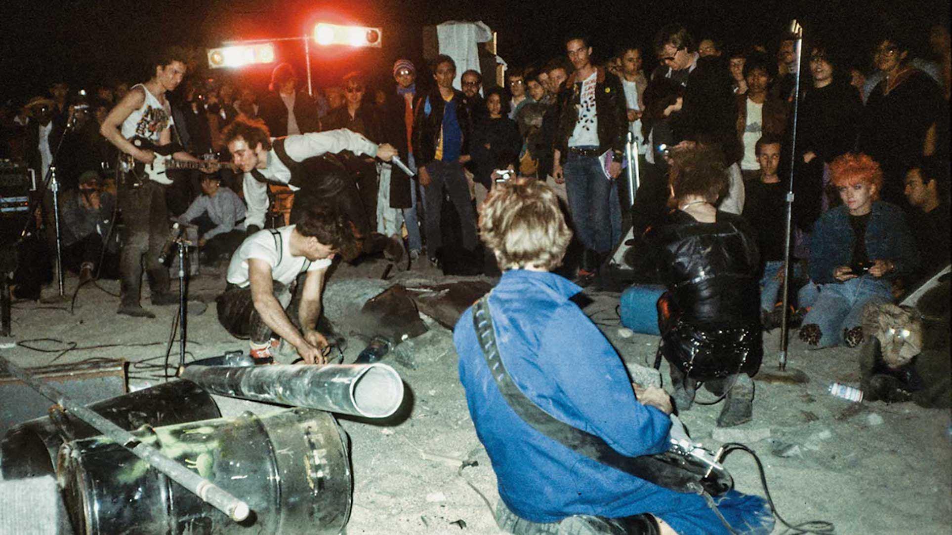 """Einstürzende Neubauten in der Dokumentation """"Desolation Center"""" Foto: Mu Productions"""