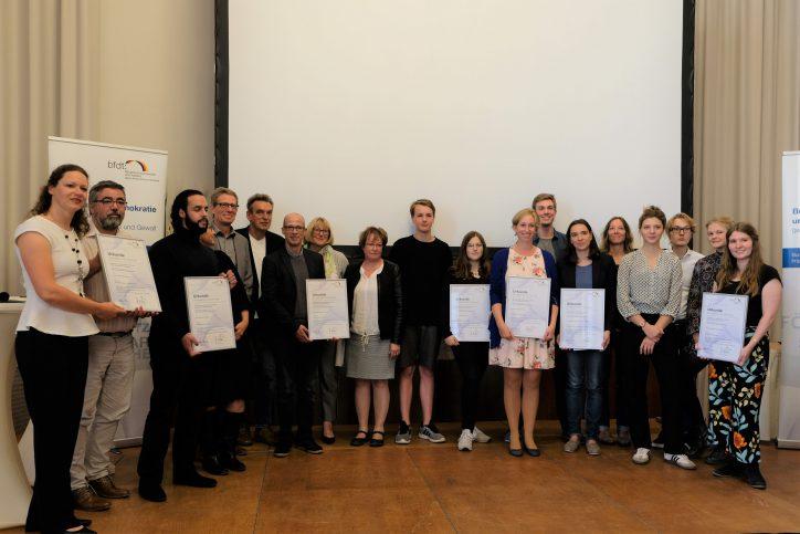 Schüler der Ida-Ehre-Schule für Engagement und Zivilcourage ausgezeichnet Foto: Maximilian Neumann