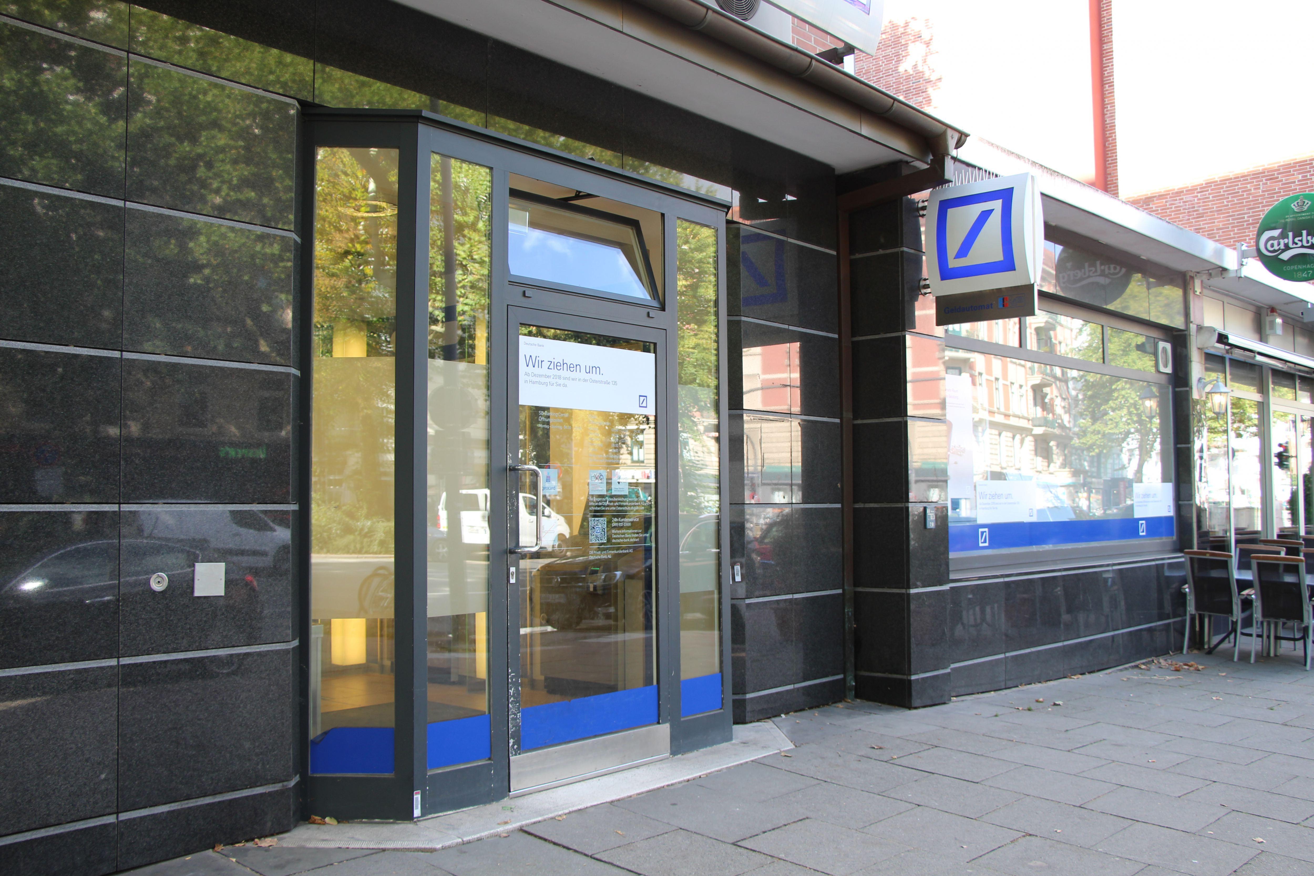 Deutsche-Bank-Filialen in der Osterstraße werden zusammengelegt