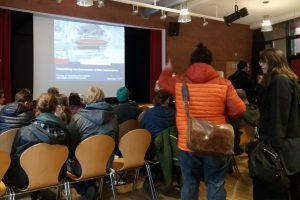 Hamburg Eimsbuettel Offenes Forum Sternschanze Bahndamm