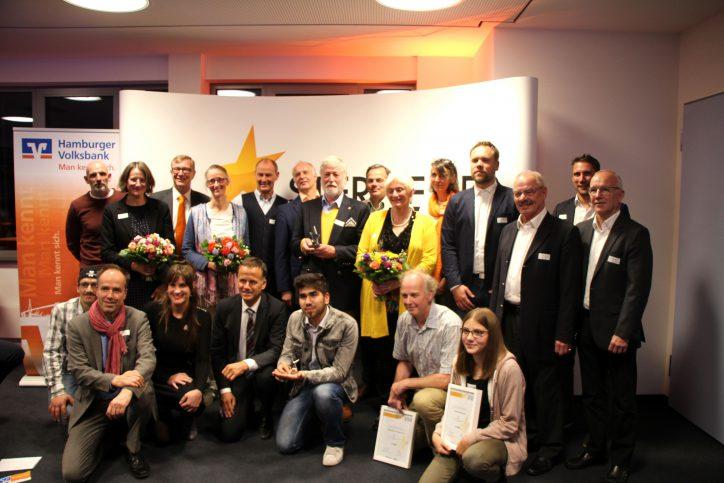 Die Gewinner der Silberenen Sterne des Sports. Foto: Robin Eberhardt