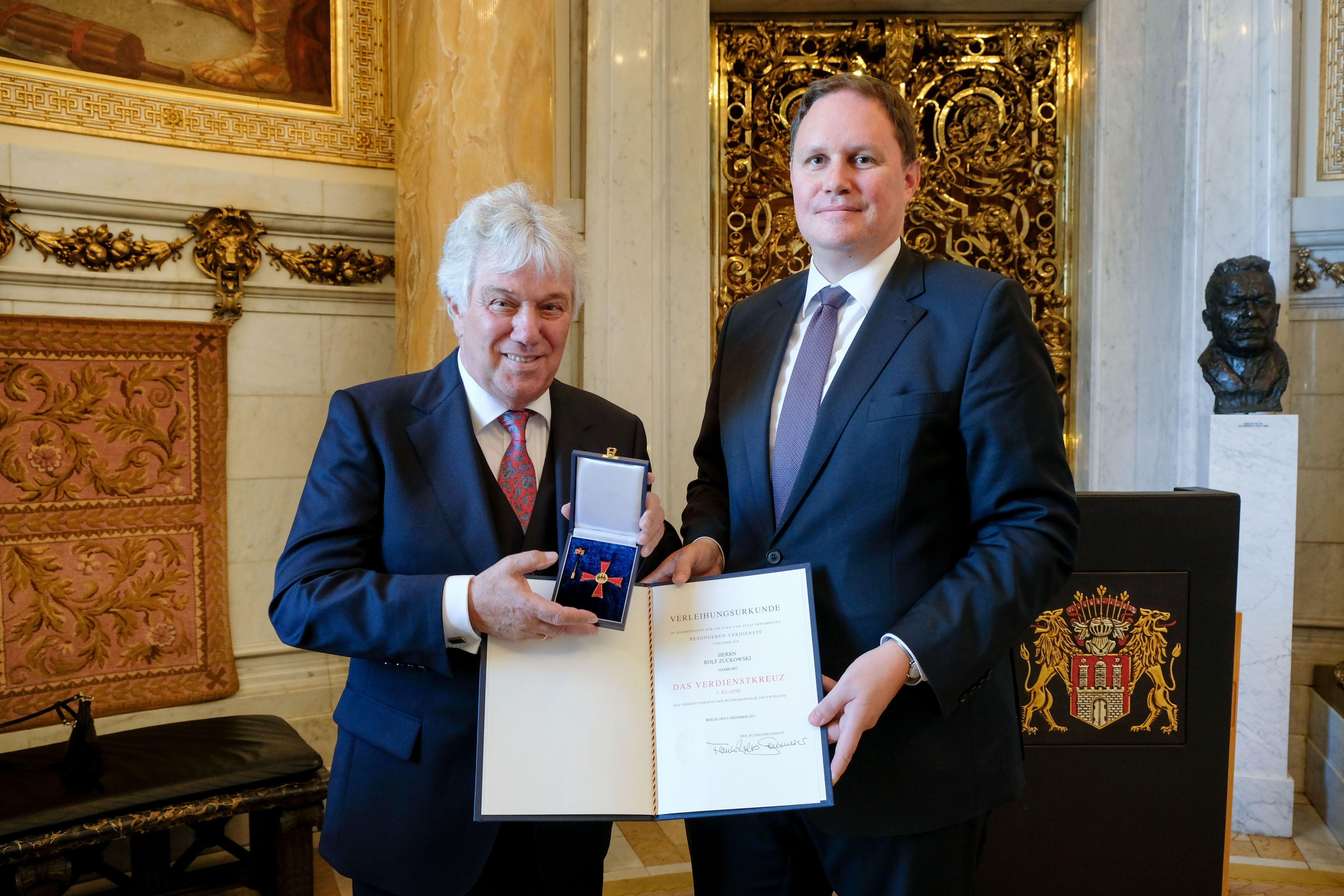 Rolf Zuckowski erhält Bundesverdienstkreuz