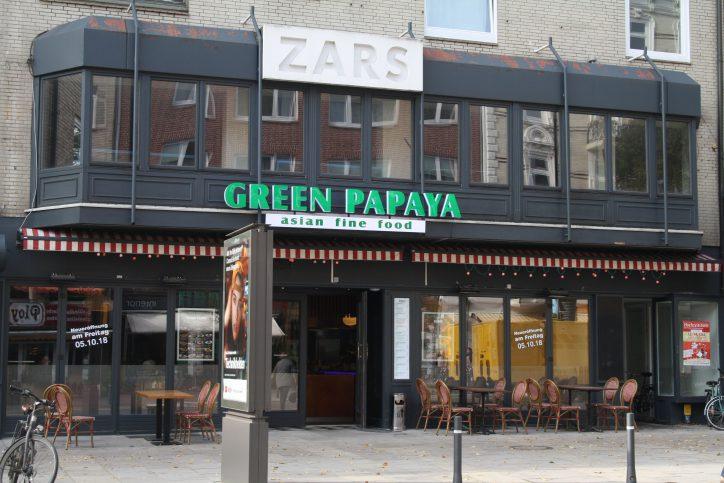 """""""Green Papaya"""": Vietnamesisch essen im ehemaligen """"Zars"""""""
