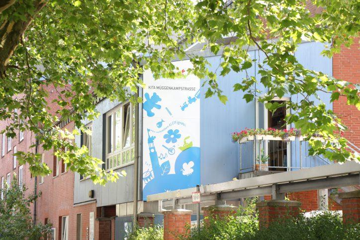 Auch in Eimsbüttel sollen mehr Kita-Plätze entsehen. Foto: Alicia Wischhusen
