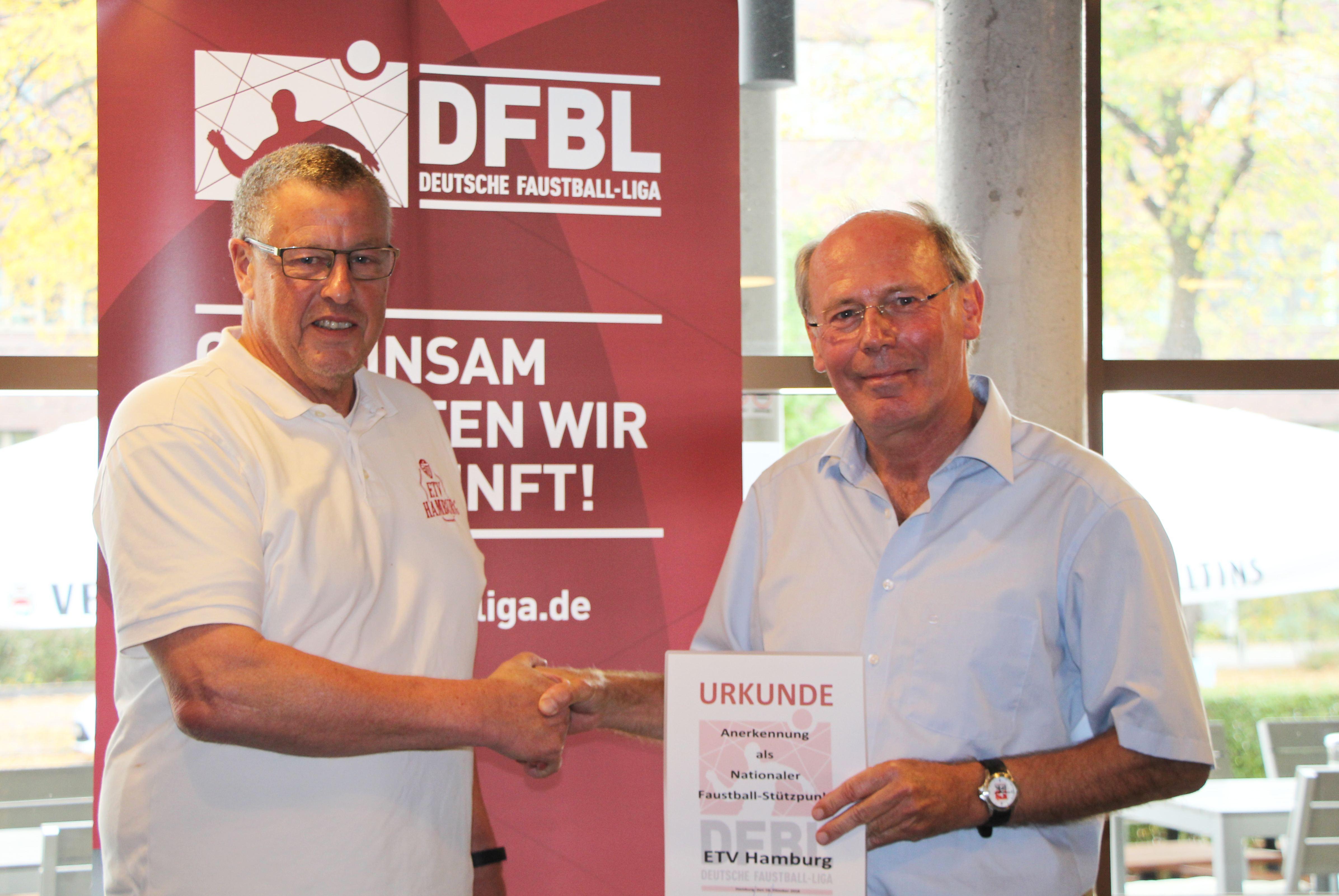 Faustball: ETV wird nationaler Stützpunkt