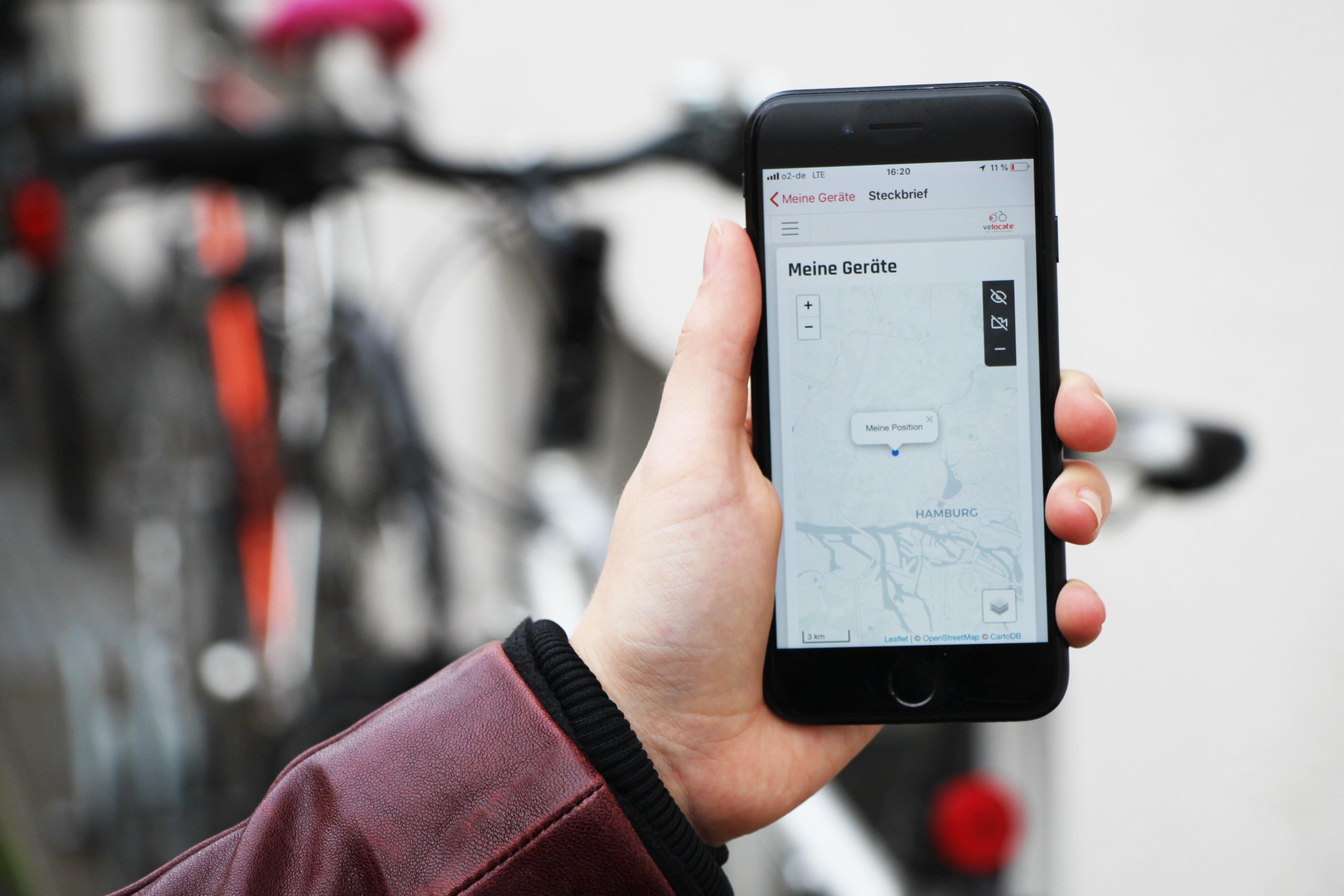 #Fahrradklaukarte: Mit GPS gegen Fahrraddiebe