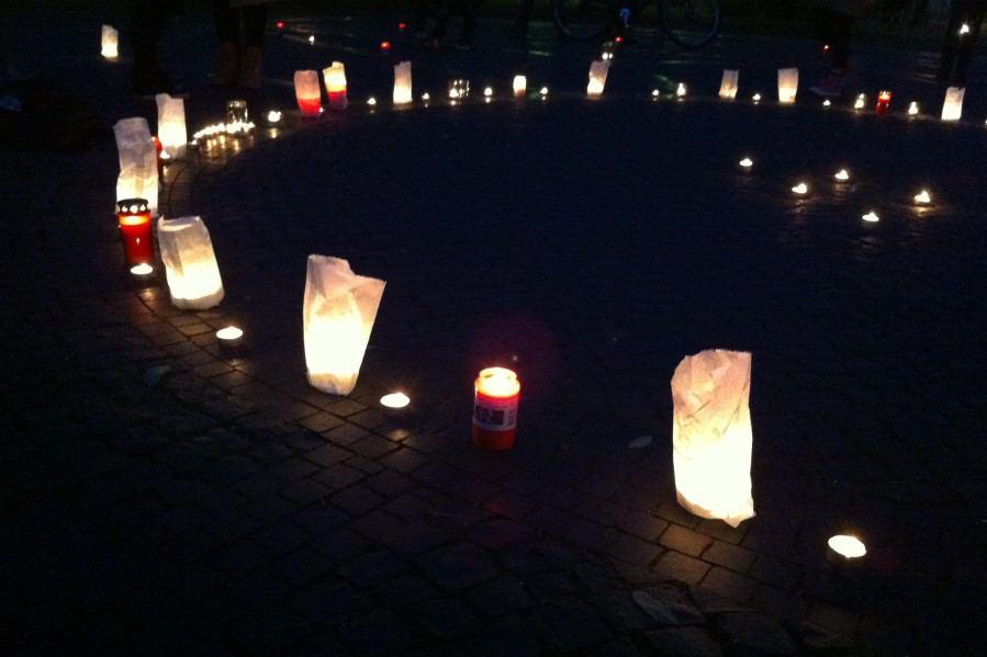 """""""Grindel leuchtet"""": Das Grindelviertel erinnert an die Opfer des Holocaust"""