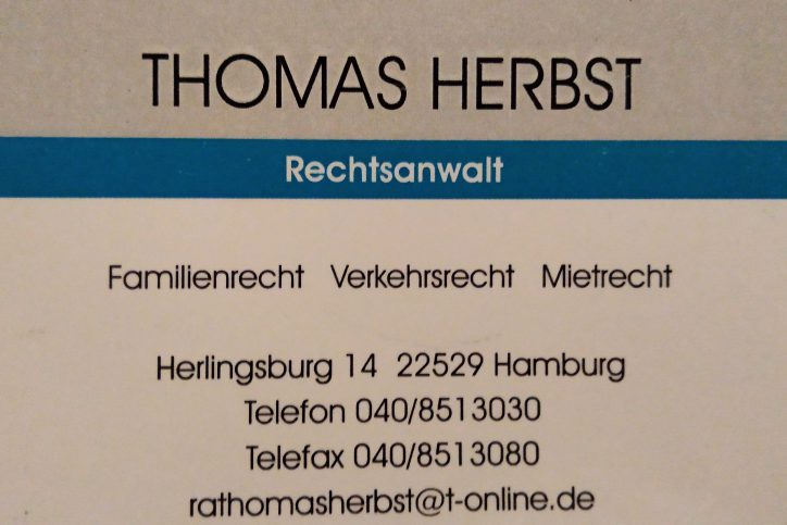RA Thomas Herbst