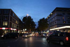 Hamburg Eimsbuettel Weihnachtsbeleuchtung Osterstraße