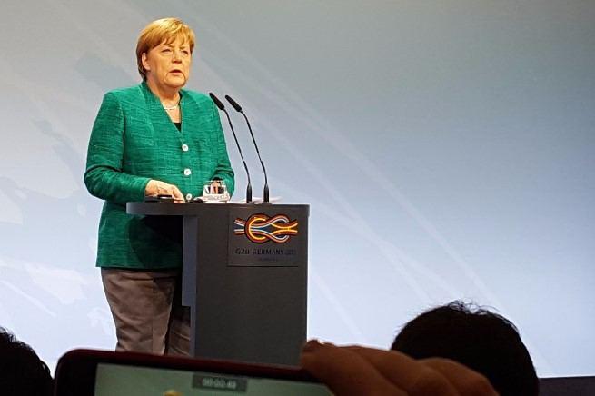 Angela Merkel, CDU Parteitag, CDU Nachfolge, Merz, AKK