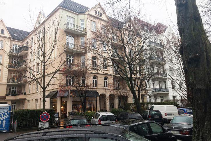 Angela Merkels Wohnort in den ersten sechs Wochen nach der Geburt. Foto: Eimsbütteler Nachrichten