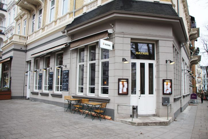 Das neue Hatari ist ein schönes und helles Eckrestaurant. Foto: Fabian Hennig