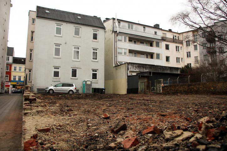 Hinterhof-Bebauung Osterstraße 174
